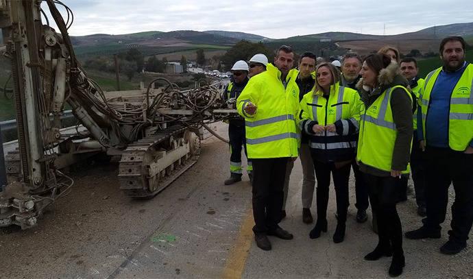 Andalucía inicia las obras de mejora de la carretera entre Ronda y Ardales