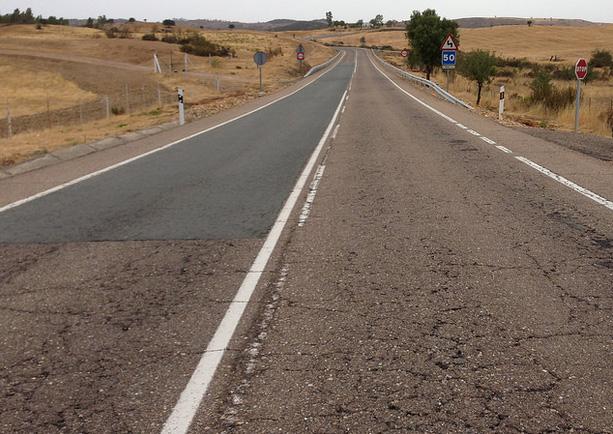 Preocupante estado de conservación de las carreteras españolas