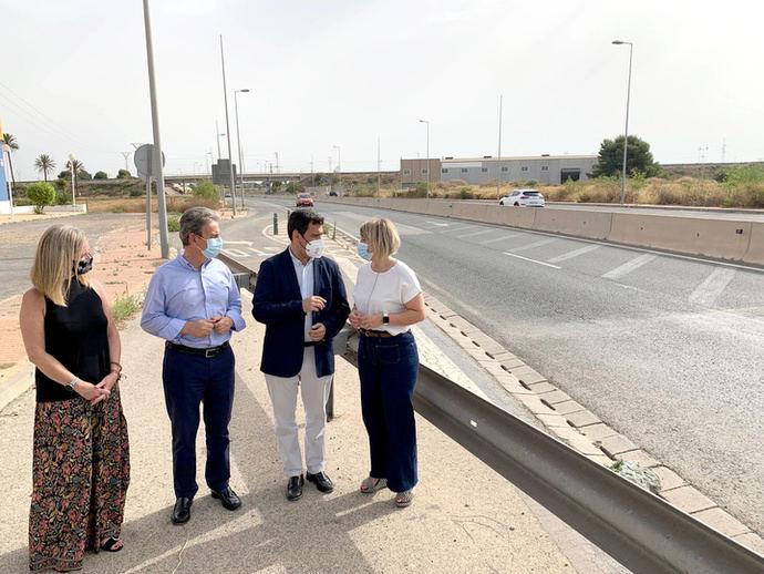 Murcia propone mejorar 65 tramos con 207 km de carreteras regionales