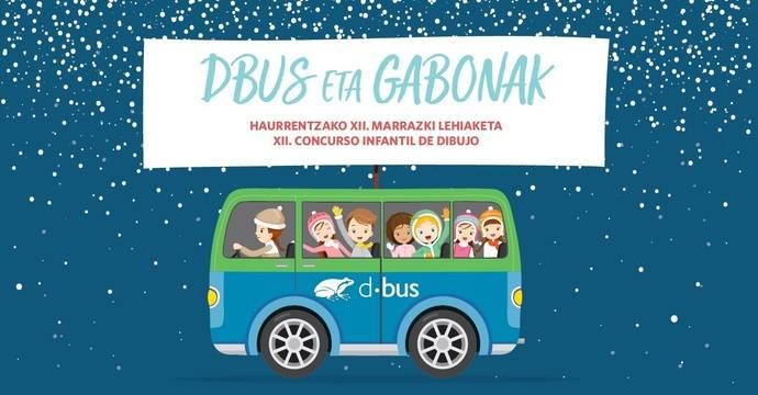 XII edición del Concurso infantil de dibujo 'Dbus eta gabonak'
