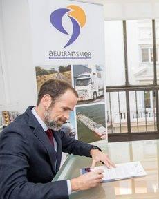Carlos Castán, presidente de Aeutransmer.