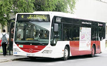 Castilla y León reduce su transporte al 25%