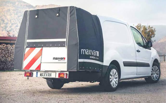 Snovit crea el sistema maxvan para ampliación de carga en furgonetas