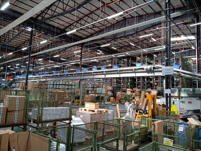 La contratación logística en España llega a 1,38 millones de metros cuadrados