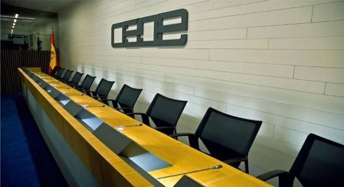 Sala de juntas del CEOE.