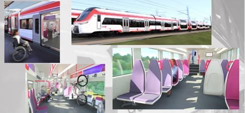 152 trenes que renovarán la flota de Cercanías y Media Distancia