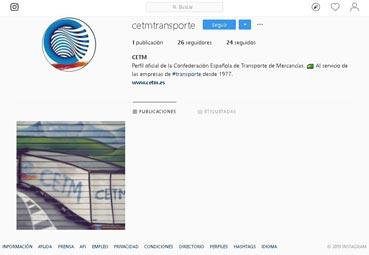La Cetm se une a la red de Instagram para acercarse a miembros del Sector