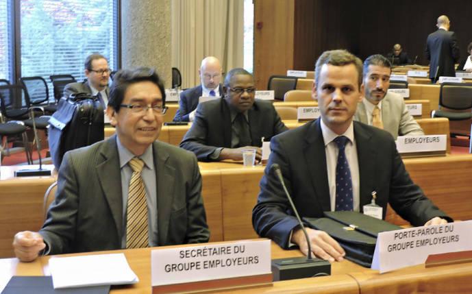 Miguel Pereira participa en reunión sobre seguridad en el Transporte de la OIT