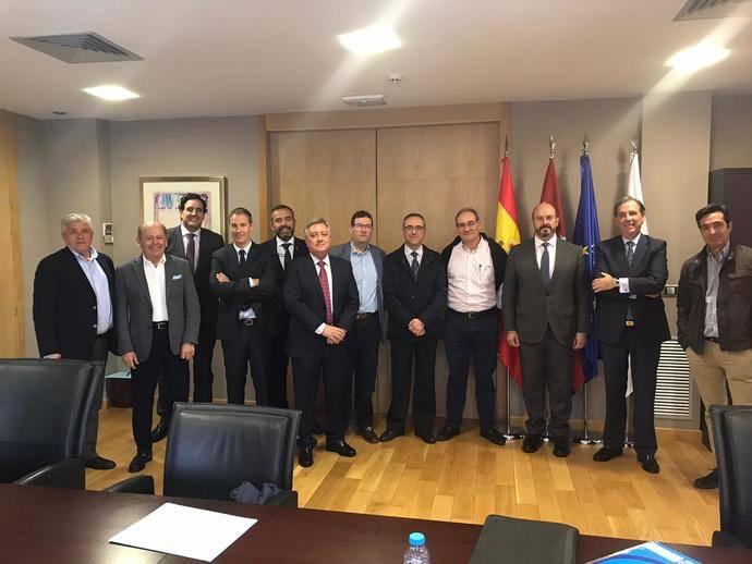 CETM-Madrid traslada a Pedro Rollán la difícil situación transporte de mercancías por carretera