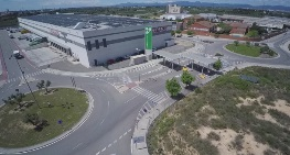 Cimalsa graba imágenes aéreas con drones para promocionar sus centros