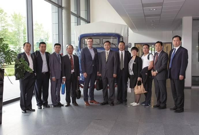 Una delegación del Gobierno de China visita TimoCom