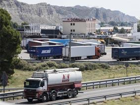 El cierre de bares y restaurantes en Cataluña afecta a los transportistas
