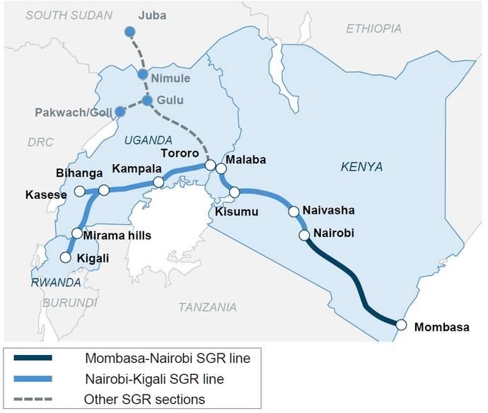 Cimalsa colabora con la red logística intermodal de Kenia