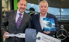 Récord para Mercedes-Benz: 55.555 autobuses Citaro producidos
