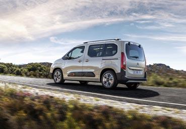 Citroën presenta la nueva gama de Berlingo con cuatro acabados diferentes