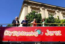 Imagen del autobús de Jerez