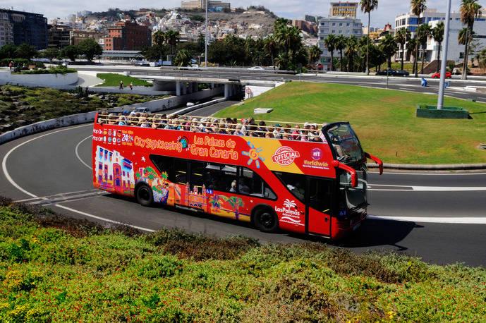 City Sightseeing celebra su octavo aniversario en Las Palmas