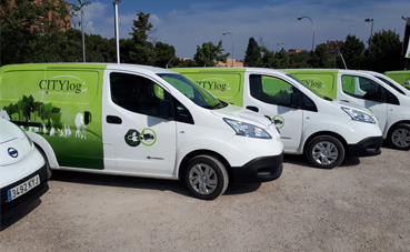Citylogin amplía su flota 'zero emisiones' para la distribución urbana