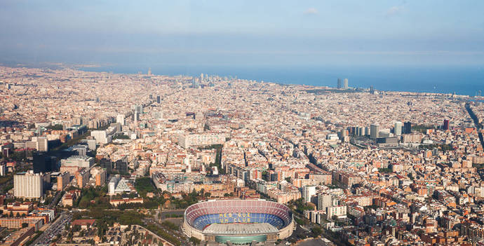 Barcelona encabeza lista de las ciudades más congestionadas en España