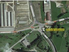 La Xunta inicia la construcción de una nueva glorieta en la carretera AC-861