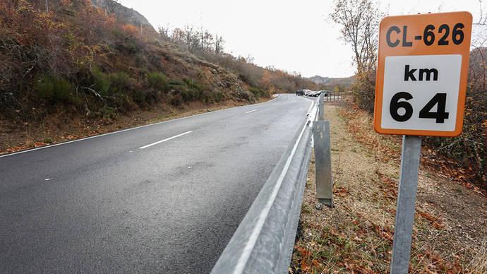 Declaradas de emergencia la contratación de obras en las carreteras de la provincia de Palencia CL-626 y P-210