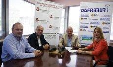 Disfrimur firma un convenio por la integración de personas con Sindrome de Down