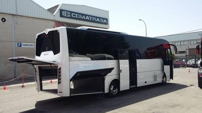 Indcar presenta su modelo Next L9 en Comatra