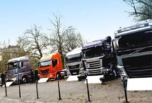 Crece un 13.2 % la demanda de vehículos industriales en la UE en el último mes