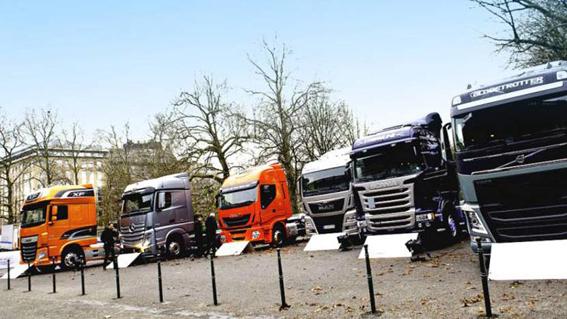 Crece un 11,6% la demanda de vehículos industriales en la UE en el 2016