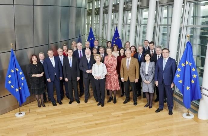 Se lleva a cabo el programa de trabajo de la Comisión Europea para 2020