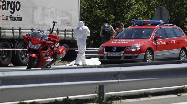 Navarra solicita 20 años de prisión para el ertzaina que disparó contra el transportista