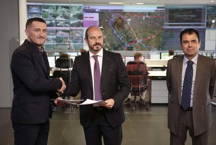 El acuerdo establecido entre el CRTM y Moovit busca favorecer la intermodalidad del transporte público madrileño.