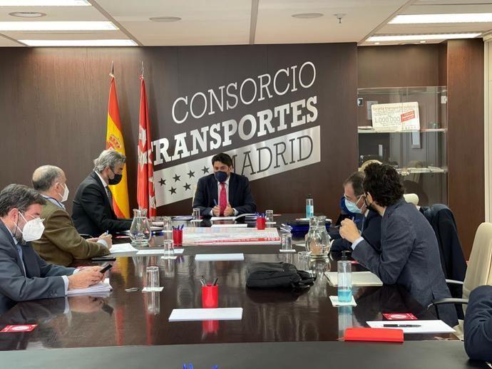 Comunidad de Madrid establece un grupo de trabajo de Transporte