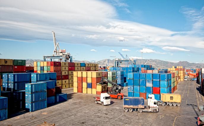 El Puerto de Castellón destaca en importación y exportación de contenedores