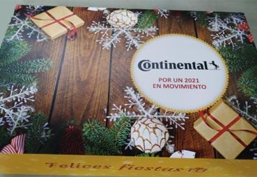 Continental agradece el esfuerzo de los transportistas durante la pandemia