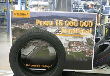 Continental alcanza los 15 millones del ContiSeal en Lousado