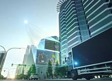 Los sistemas de sensores se basa en datos topográficos altamente precisos sobre el trayecto y en una señal GPS.