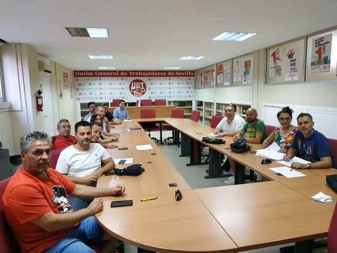 UGT, CCOO y UNO firman el Convenio de Operadores Logísticos de Sevilla