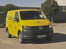 Correos elige el Volkswagen Transporter