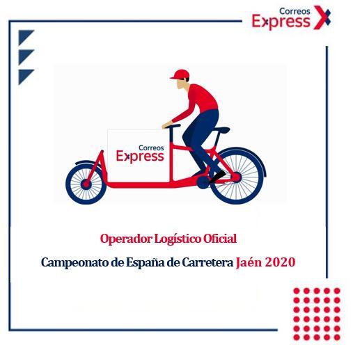 Correos Express, operador logístico del Campeonato de España de Ciclismo en Carretera