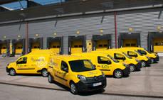Correos duplica su flota eléctrica de furgonetas e incorpora triciclos