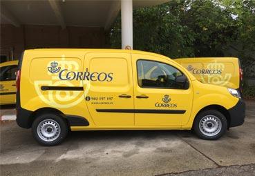 Correos introduce el renting en su flota