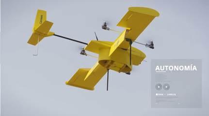 Correos prueba drones para reparto de emergencia
