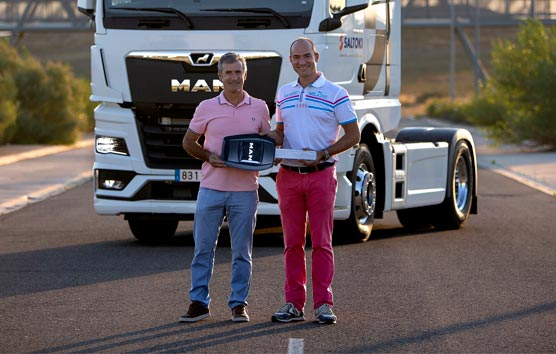 MAN entrega la primera unidad en España de su nueva generación de camiones