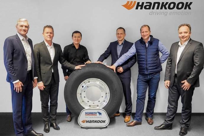 Hankook y Schmitz Cargobull extienden su alianza hasta 2022