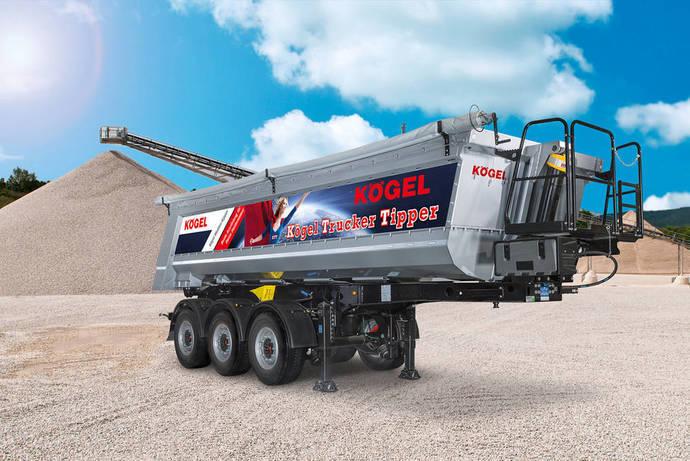 Kögel Trucker Tipper, adaptado a las necesidades de los conductores