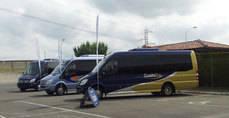 Autobuses de la flota de Autobuses Cuadra