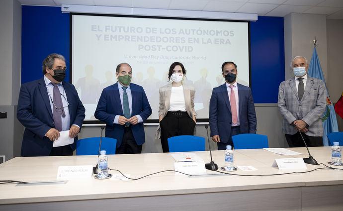 13.000 autónomos de Madrid se han beneficiado ya de la concesión de ayudas directas