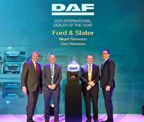 DAF honra a los 'International Dealers of the Year 2020'
