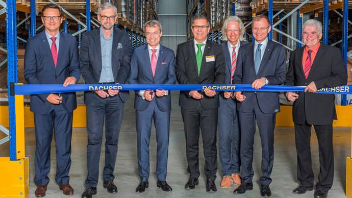Realidad virtual en la inauguración del nuevo almacén de Dachser en Austria